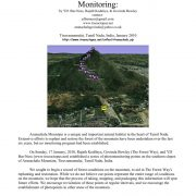 Arunachala Mountain Photomonitoring Report