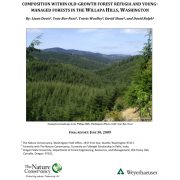 Characterization of Biological Diversity in Forest Refugia of Willapa Hills
