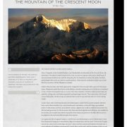 The Mountain of the Crescent Moon