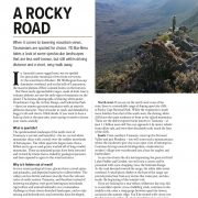 A Rocky Road – Quartzite Mountains
