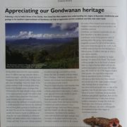 Appreciating Our Gondwanan Heritage