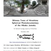 Hibaku Witness Trees of Hiroshima