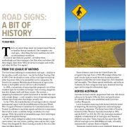 Road Signs – A Bit of History