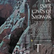 The Giant Caves of Sarawak