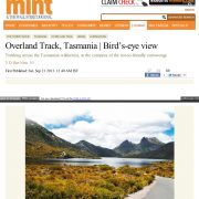 The Overland Track Tasmania- Birds Eye View